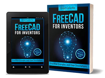 Book cover: Freecad For Inventors
